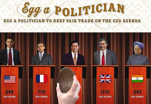 Egg a politician