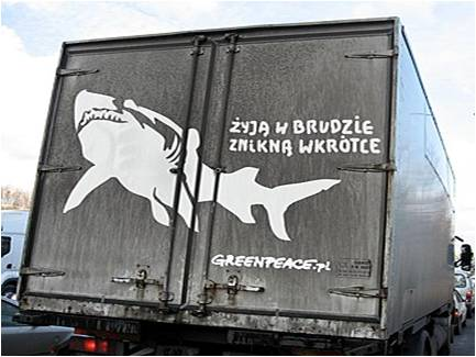 Le requin Greenpeace